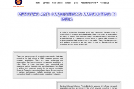 Mergers and Acquisitions Services in kelambakkam Infographic