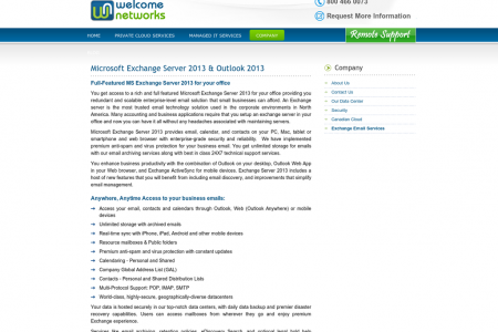 Microsoft Exchange Server 2013 & Outlook 2013 Infographic