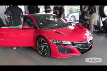 Mike Hale Acura's 2016 NSX [Coming Soon] Preview Infographic