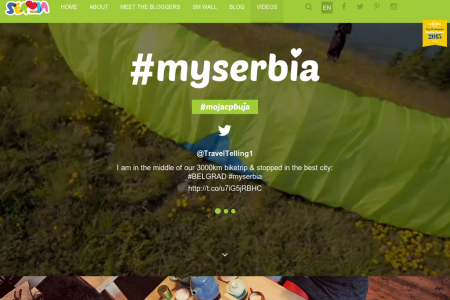 #MySerbia Infographic