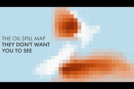 Oil Spill Map New Zealand Animation Infographic
