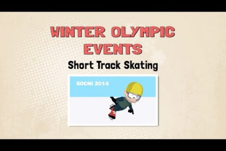 Olympics: An Animated History of Short Track Skating Infographic