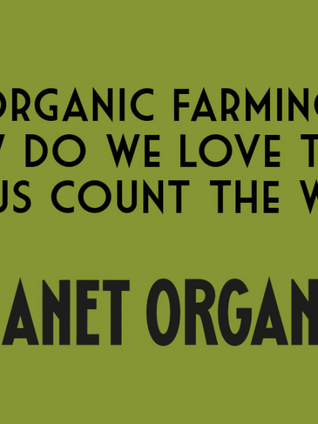 Organic Farming. How do we love thee? Let us count the ways. Infographic
