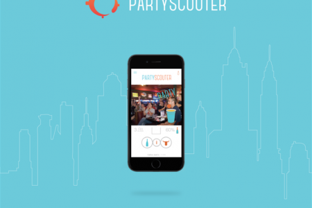 PartyScouter Case Study Infographic