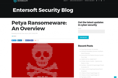 Petya Ransomeware: An Overview Infographic