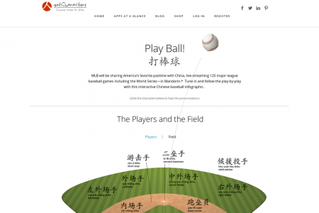 Play Ball 打棒球! Infographic