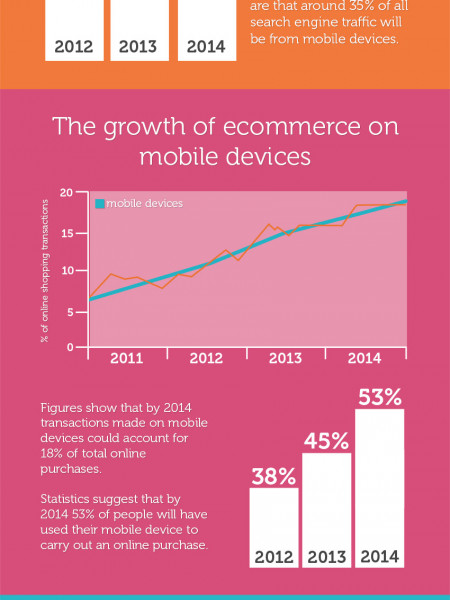 Predictions for Mobile Ecommerce 2014 Infographic