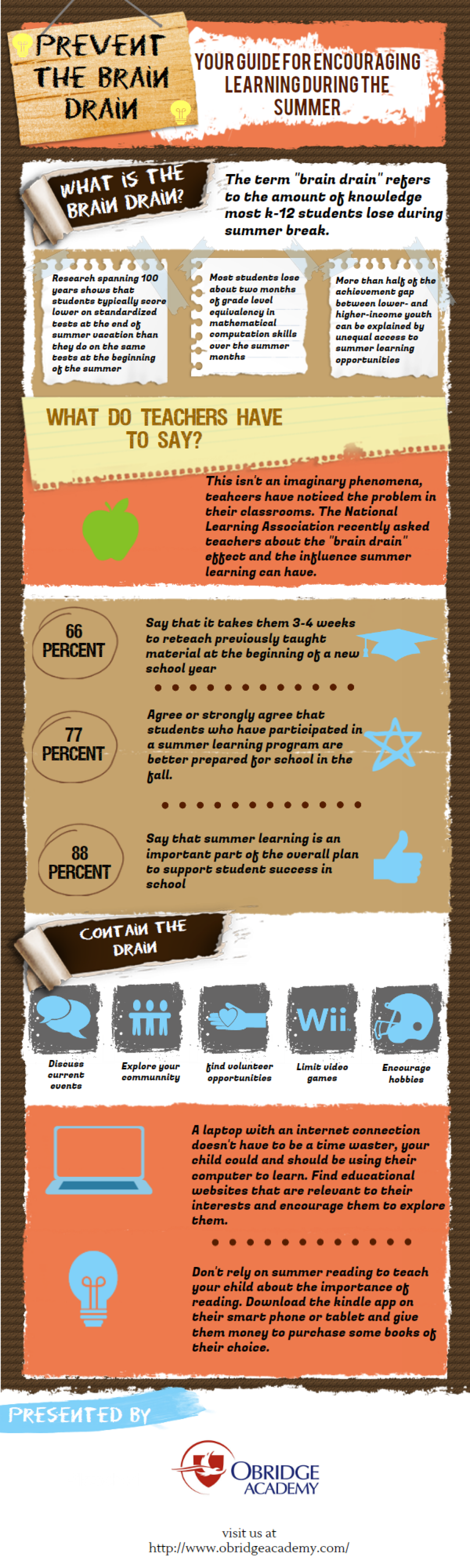 Prevent the Brain Drain Infographic