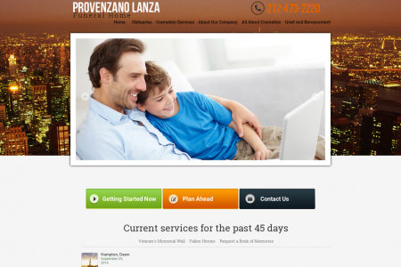Provenzano Lanza Funeral Home Infographic