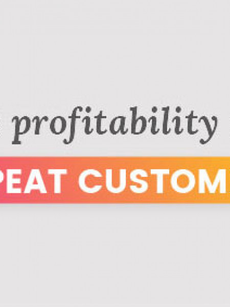 Repeat Customers Are Profitable And We Can Prove It! Infographic