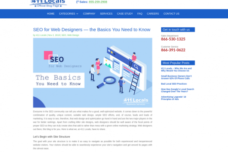 SEO for Web Designers — the Basics You Need to Know Infographic