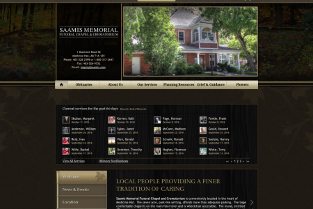 Saamis Memorial Funeral Chapel and Crematorium  Infographic