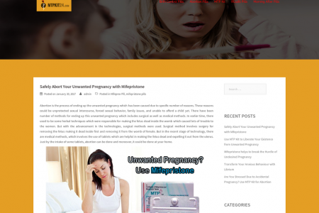 Safely Abort Your Unwanted Pregnancy with Mifepristone Infographic