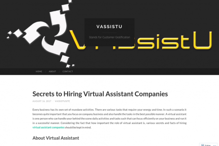 Secrets to Hiring Virtual Assistant Companies Infographic