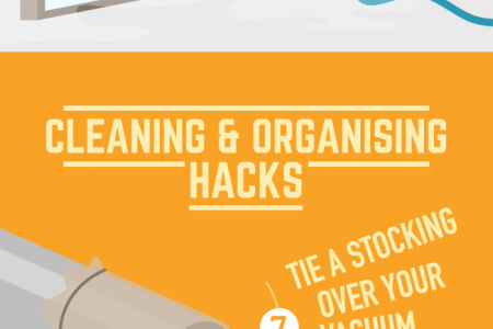 Seriously Clever Household Hacks Infographic