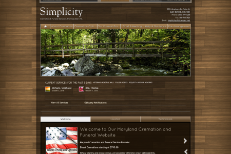 Simplicity Cremation & Funeral Service  Infographic