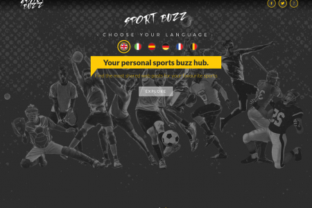SportBuzz - Your personal sports buzz hub. Find the most shared web posts for your favourite sports  Infographic