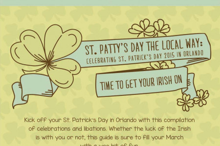 St. Patty's Day 2015: Orlando's St. Patty's Day Events Infographic