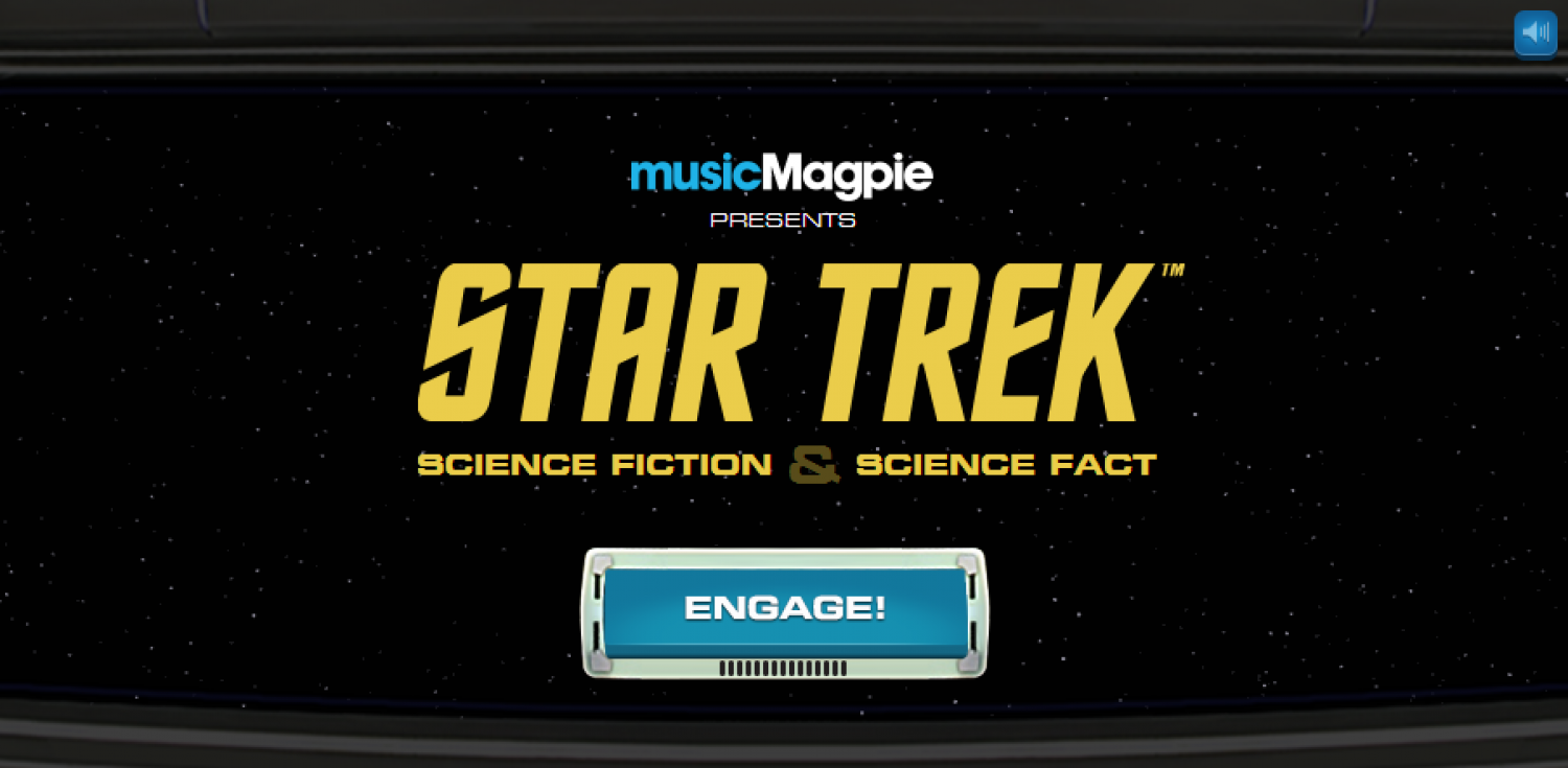 Star Trek Science Fiction & Science Fact Navigraphic Infographic