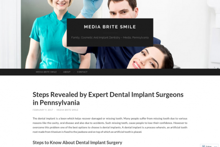 Steps Revealed by Expert Dental Implant Surgeons in Pennsylvania Infographic