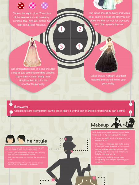 Style Tips: Prep Up For HOMECOMING Infographic