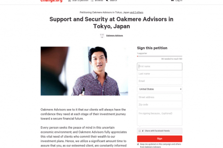 Support and Security at Oakmere Advisors in Tokyo, Japan Infographic