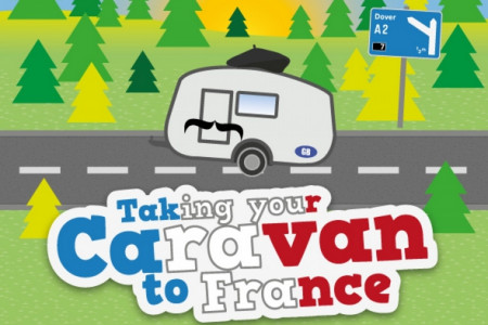 Taking Your Caravan to France Infographic