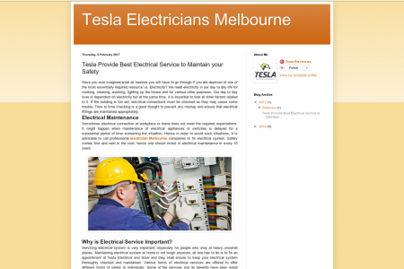 Tesla Provide Best Electrical Service to Maintain your Safety Infographic