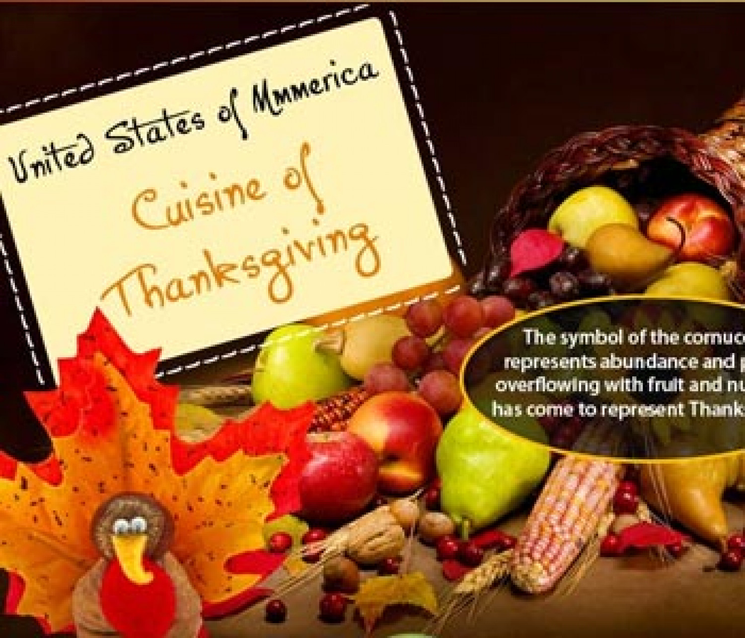Thanksgiving Food Infographic Infographic