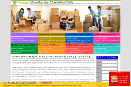 The Best Procedure To Pick Best Packers And Movers In Gurgaon Infographic