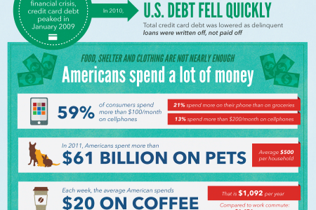 The Cost of the American Dream Infographic