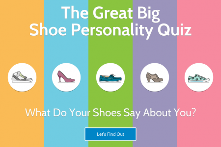 The Great Big Shoe Personality Quiz Infographic