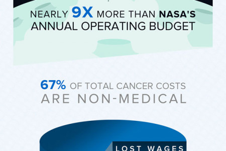 The High Costs of Cancer Treatment in the U.S. Infographic