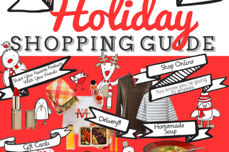 The Practical Girl's Holiday Shopping Guide Infographic