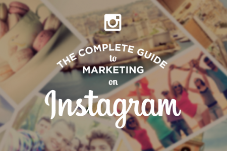 The complete guide to marketing on Instagram Infographic Infographic