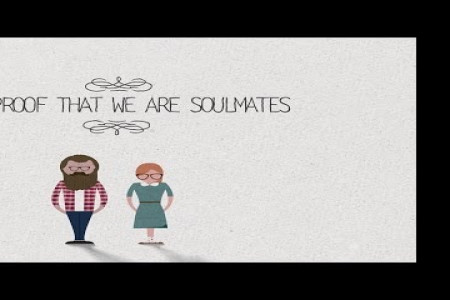 The proof that we are soulmates Infographic