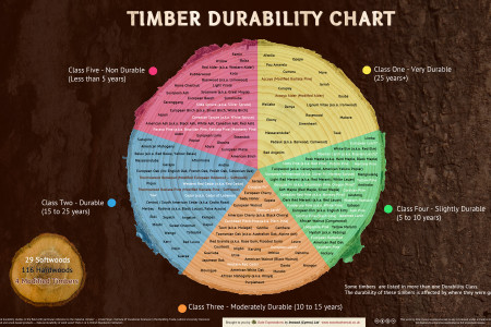 Timber Durability Chart Infographic