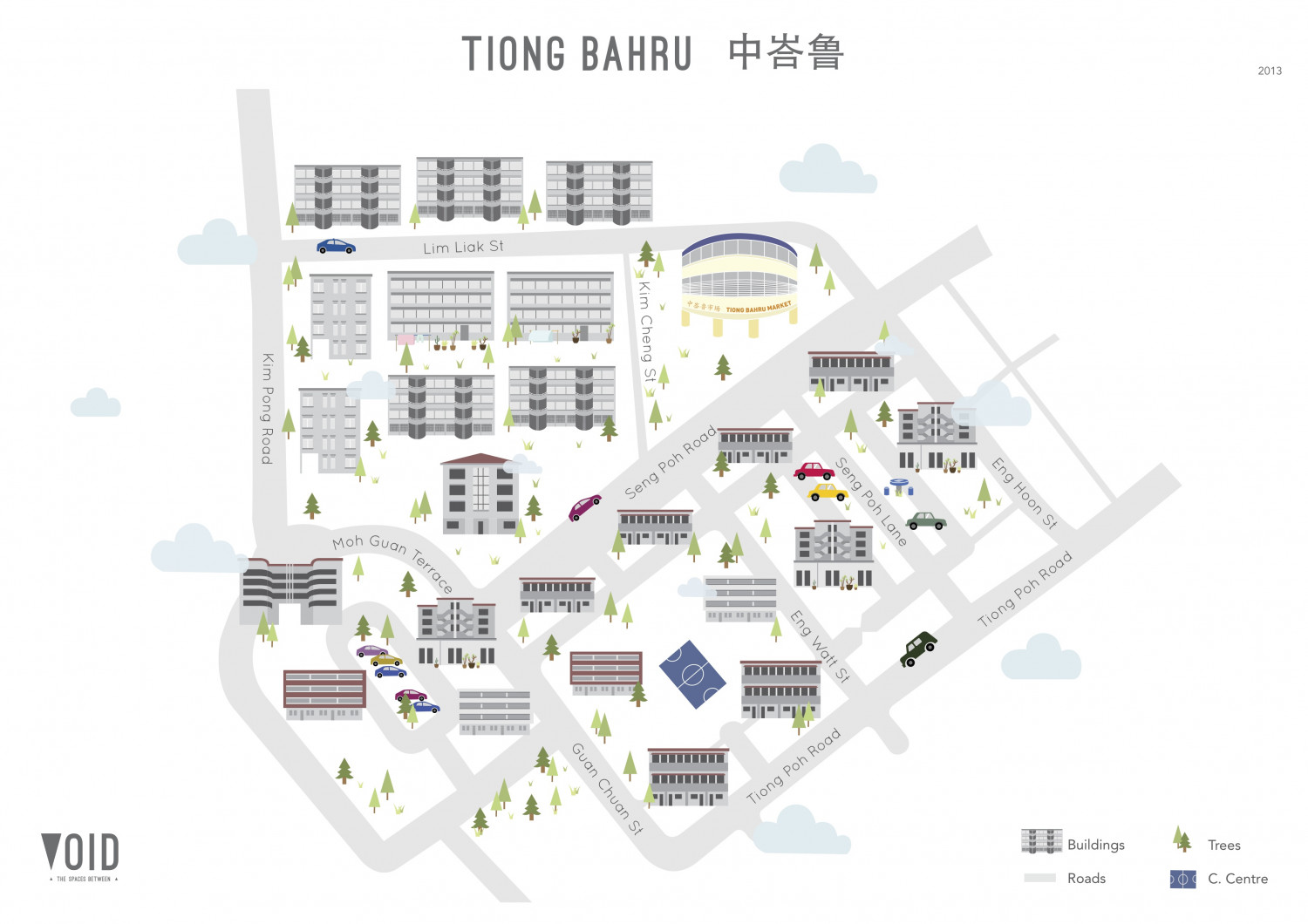 Tiong Bahru Infographic