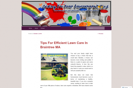 Tips For Efficient Lawn Care In Braintree MA Infographic