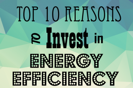 Top 10 Reasons to Invest in Energy Efficiency Infographic