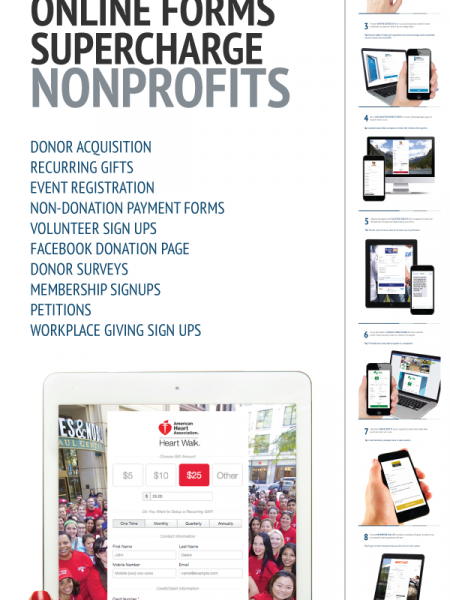 Top 10 Ways Mobile-Friendly Online Forms Supercharge Nonprofits Infographic