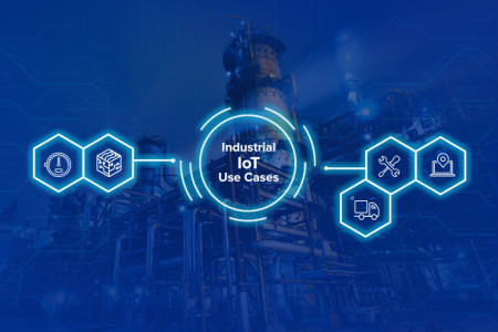 Top Use Cases for Industrial IoT Development Infographic