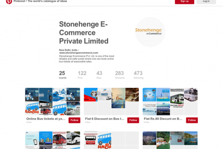 Tour Service for Domestic Holidays with Stonehenge Ecommerce Infographic