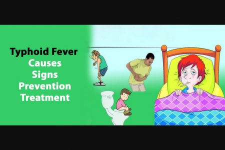 Typhoid Fever – Signs & Symptoms, Treatment, Precautions, Complications Infographic