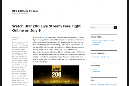 UFC 200 Live Stream PpV Online HBO Infographic