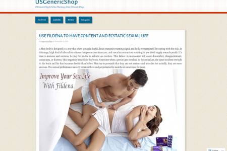 USE FILDENA TO HAVE CONTENT AND ECSTATIC SEXUAL LIFE Infographic