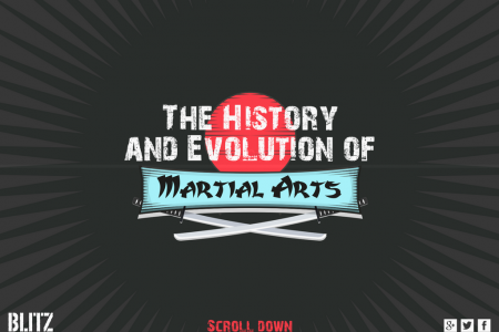 Uncover The History and Evolution of Martial Arts Infographic