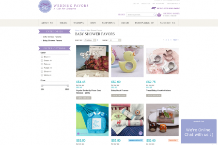 Unique Baby Shower Gifts Online Australia   SG Wedding Favors Infographic