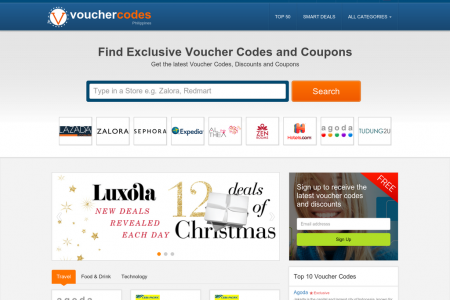 Voucher Codes Philippines - A Couponing Website Infographic