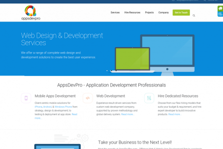 Web Development Company Infographic